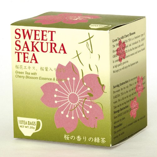 Sweet Sakura Green or Black Tea