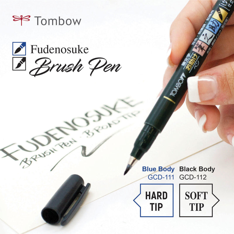Tombow Fudenosuke Soft Brush Pen