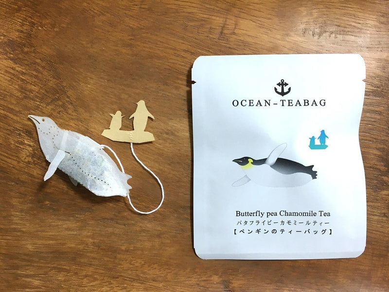Penguin Mint Chamomile Tea by Ocean Tea Bag