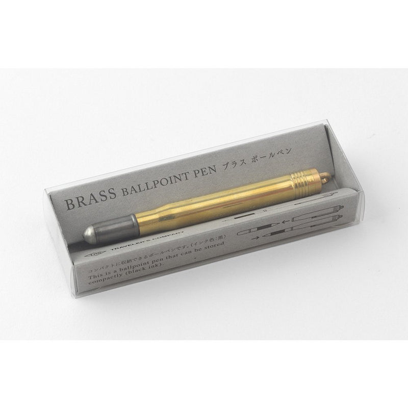Brass Ballpoint Pen by Traveler's Company