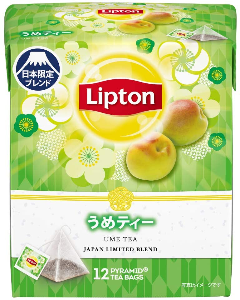 Lipton Ume (Plum) Tea - Japan Limited (12 tea bags)