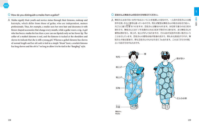 All About Japan: A Bilingual Travel Handbook for Visitors (West Japan)