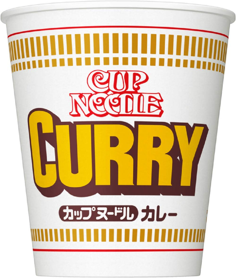 Nissin Cup Noodle Curry Flavor