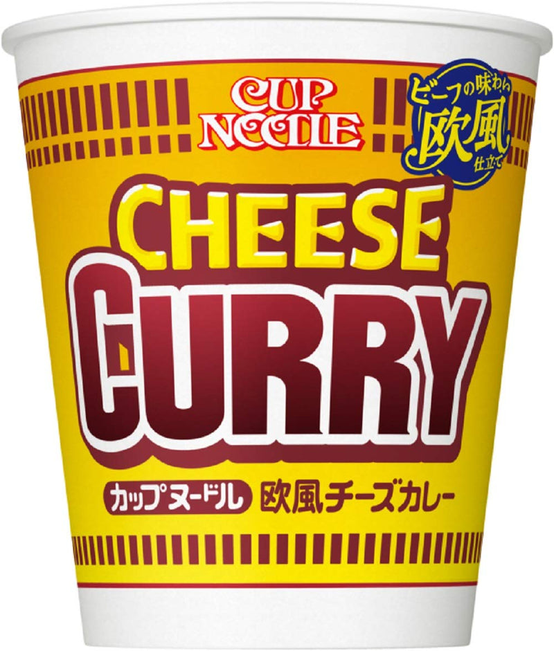 Nissin Cup Noodle Cheese Curry Flavor