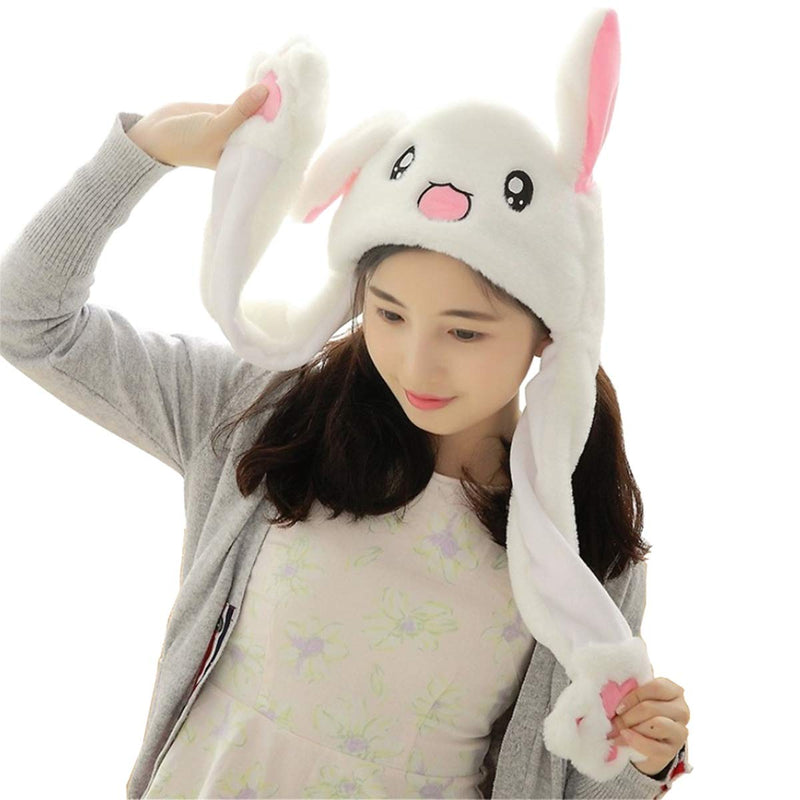 Bunny Hat with Moving Ears