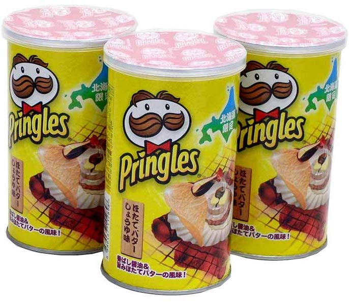 Pringles - Hokkaido Grilled Scallops with Butter Soy Sauce
