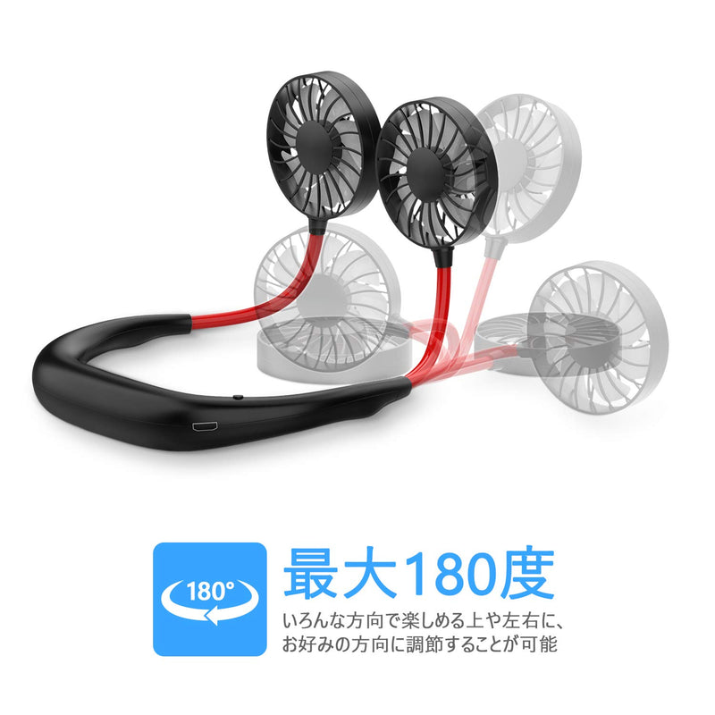 Wearable Cooling Fans by Lapoo