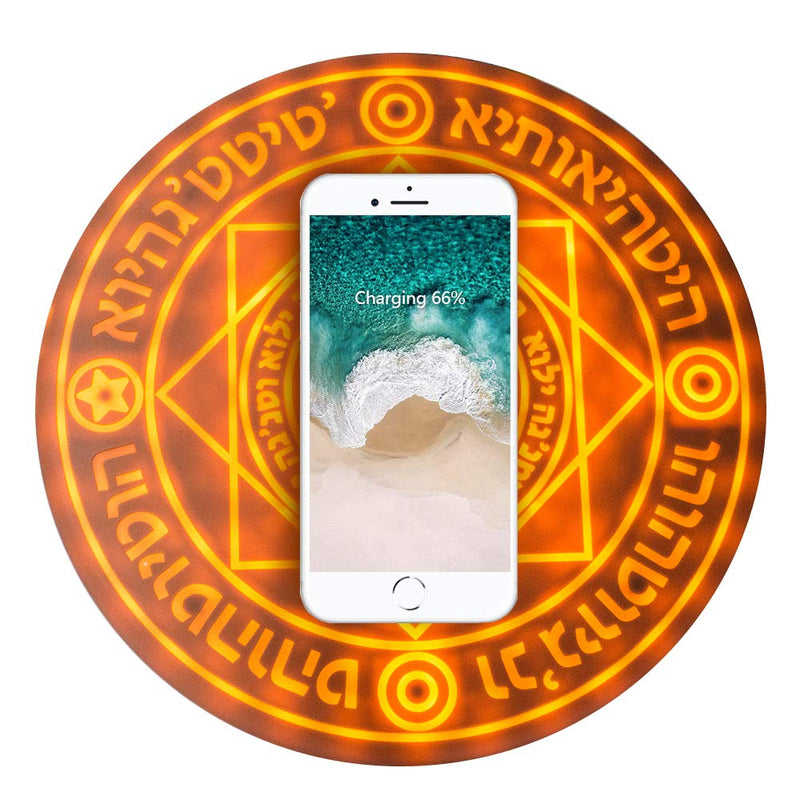 Magic Summoning Spell Wireless Charger - iPhone - Samsung Galaxy