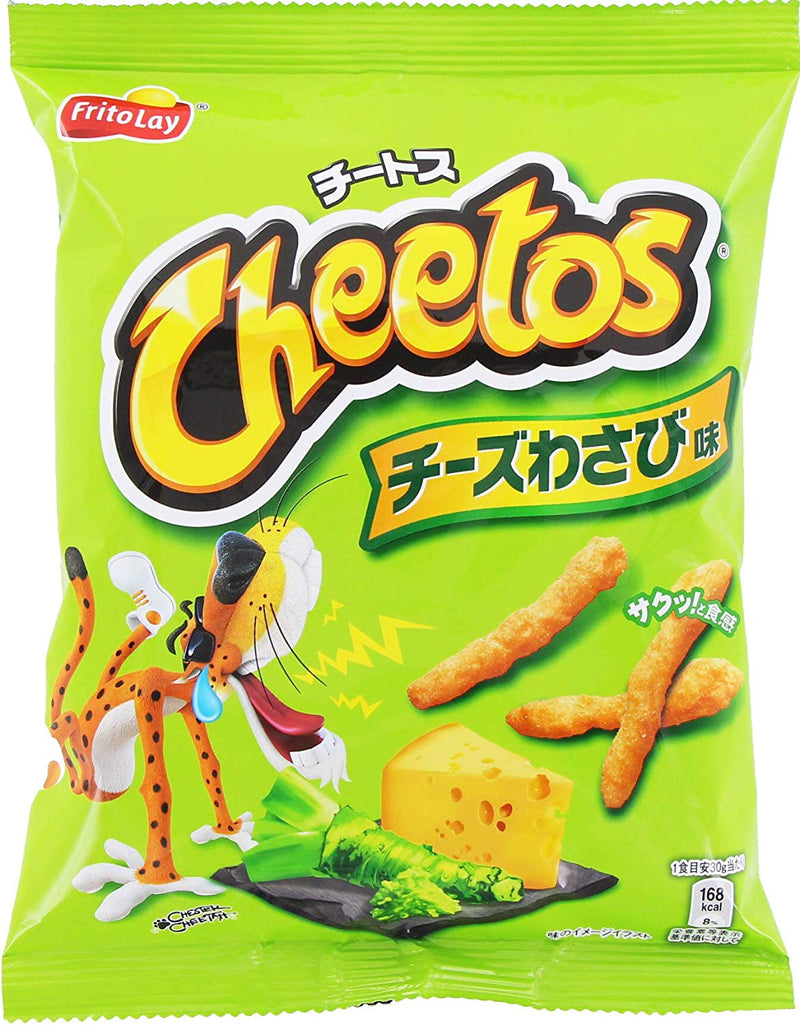 Cheetos - Wasabi Cheese Flavor