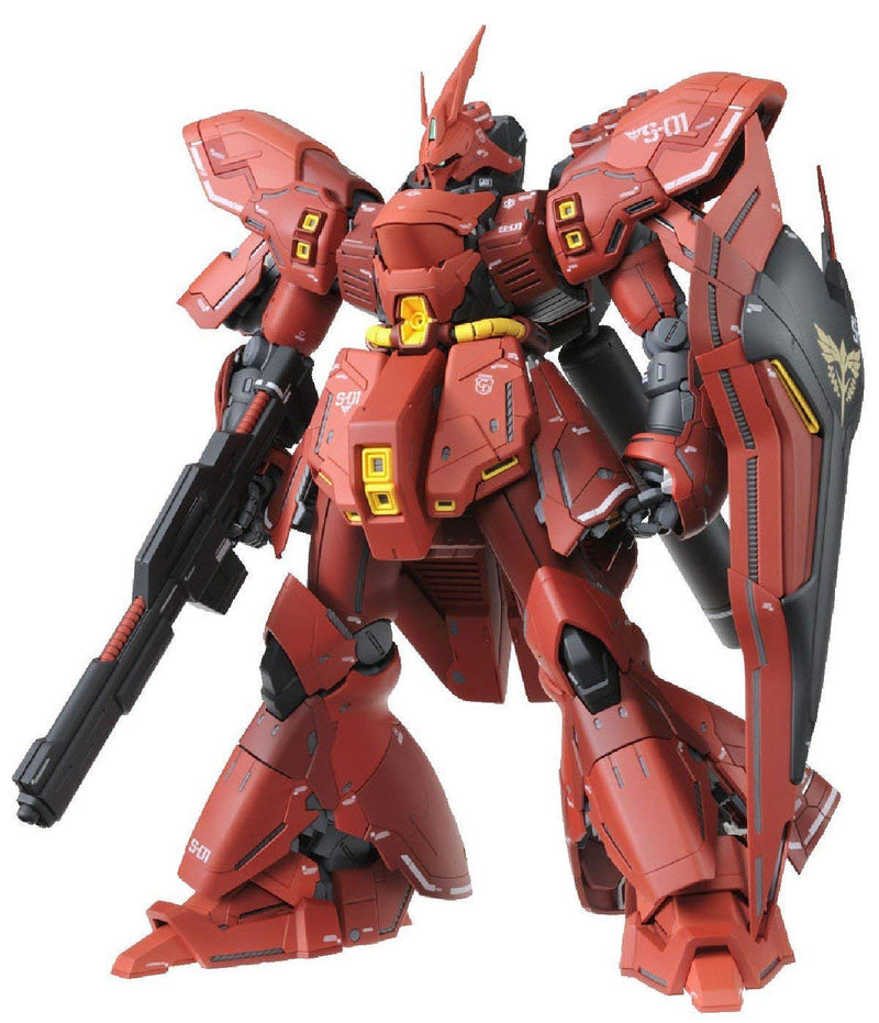 Char's Counterattack MSN-04 Sazabi MG Mobile Suit Gundam Ver.Ka 1/100 Scale Model