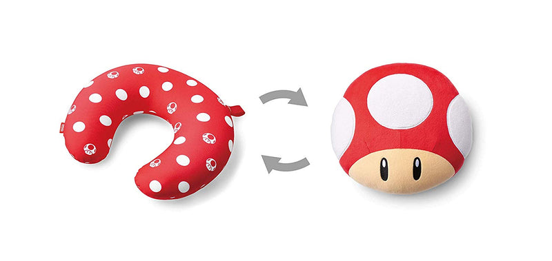 Nintendo Super Mario Neck Pillow - Mushroom