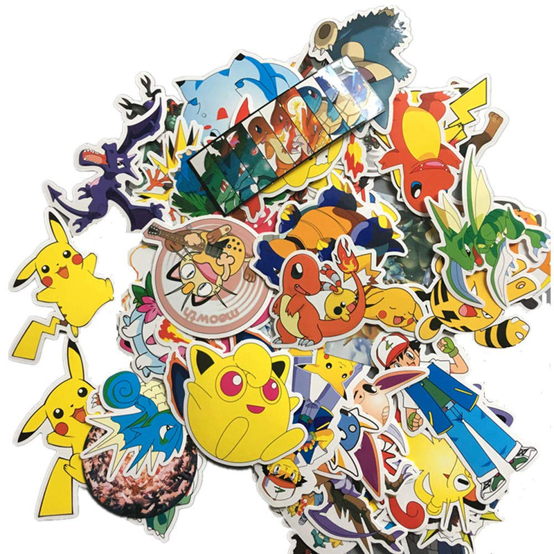 Pokemon 50 Sticker Set