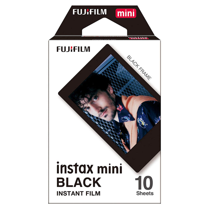 Fujifilm Instax Mini Instant Camera Film - Black