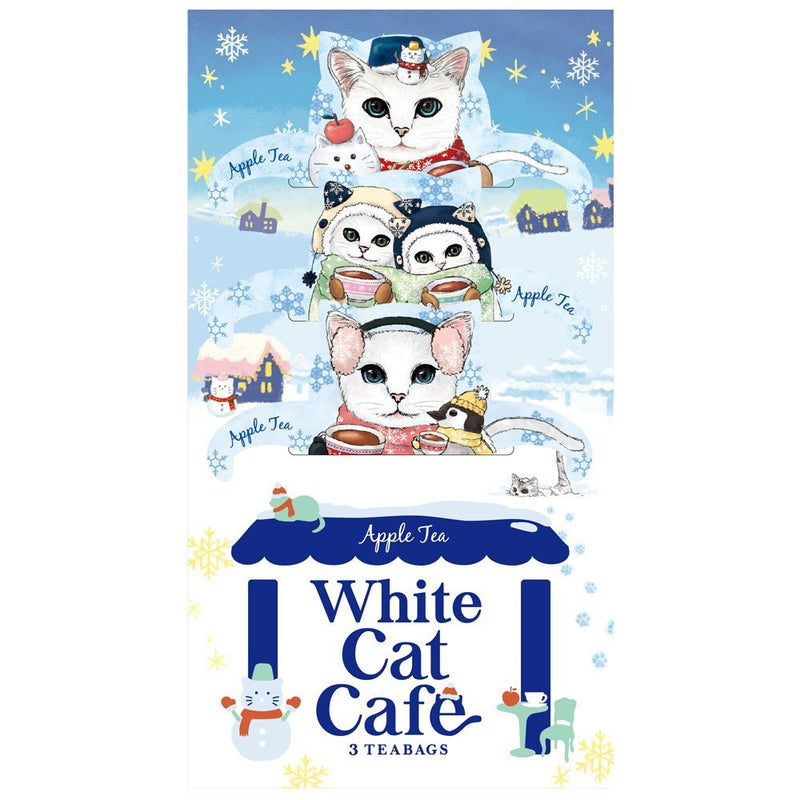 White Cat Cafe Apple Tea