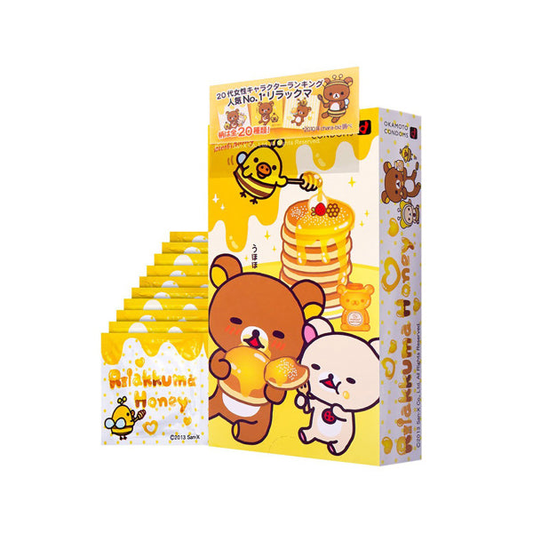 Rilakkuma Honey Condoms by Okamoto