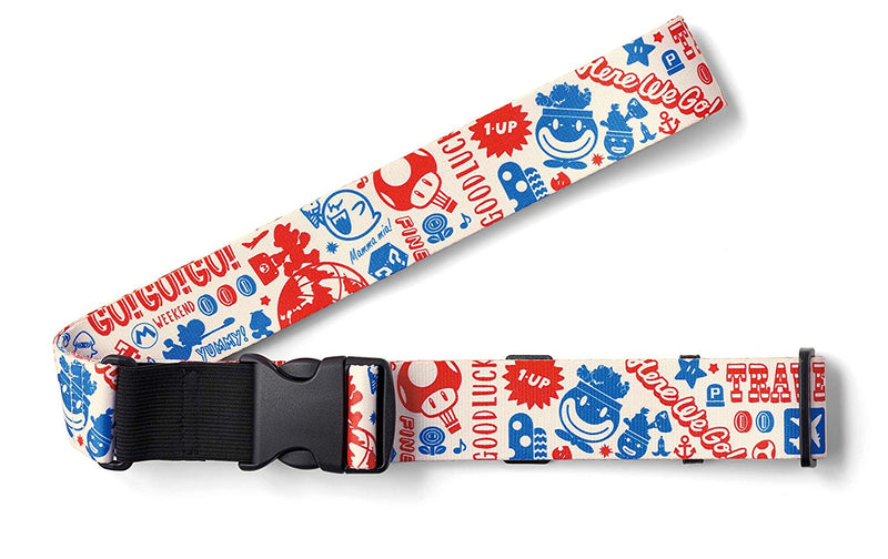 Super Mario Suitcase Strap / Belt