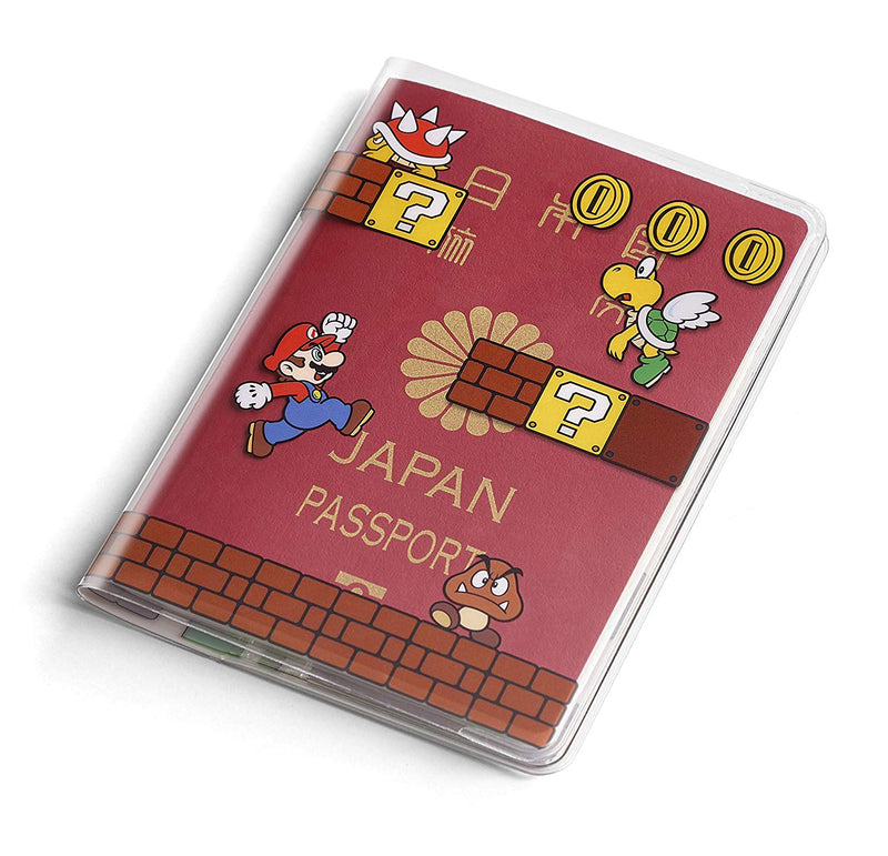 Super Mario Passport Cover