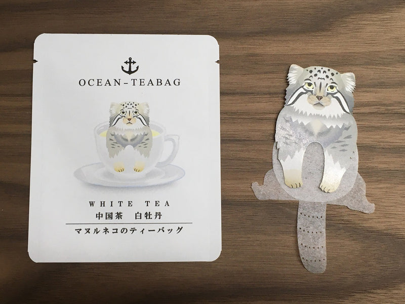 Wild Cat White Tea by Ocean Tea Bag