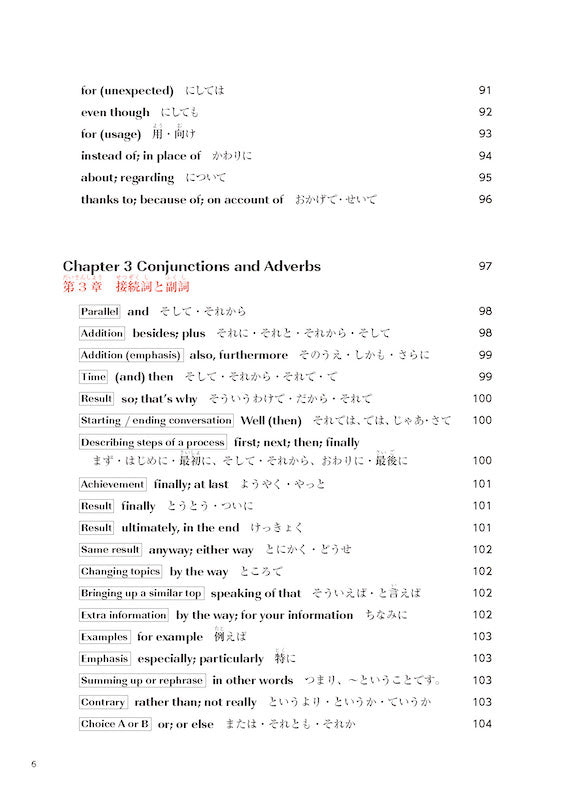 Practical Japanese 3 JLPT N3, N4 Grammar and Useful Expressions Table of Contents Page 6