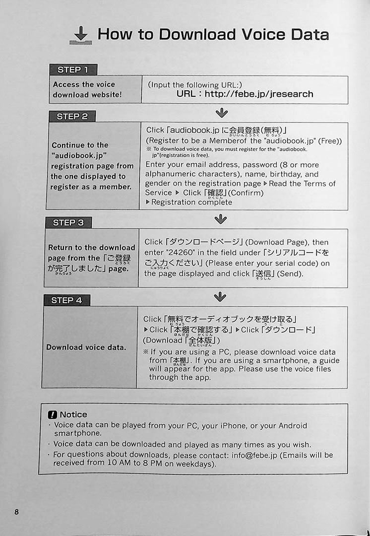 Easy Japanese for Beginners N4/N5 Vol. 1 Page 8