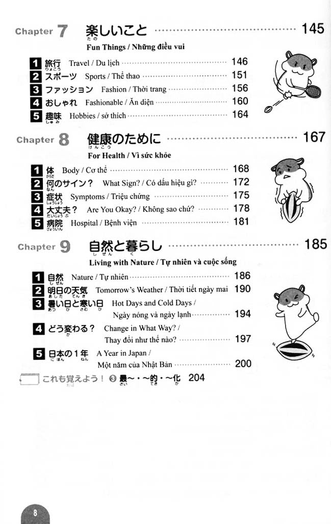 Essential Vocabulary 2000 JLPT N3 Page 8