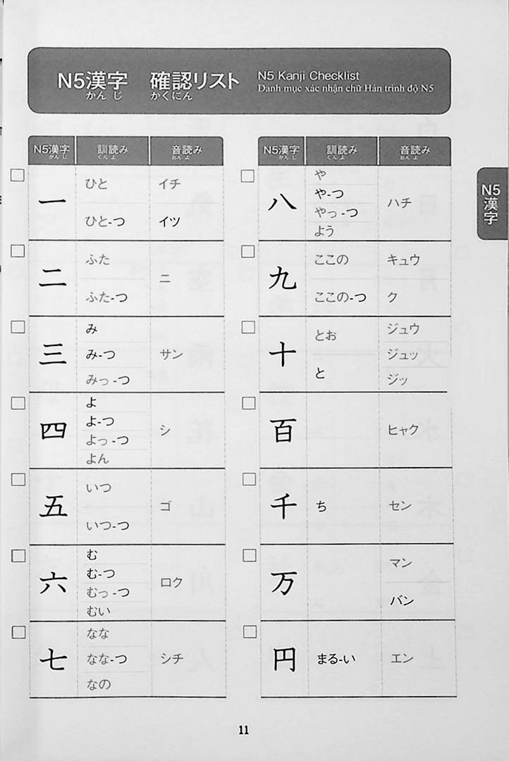 350 Kanji that are Essential for the JLPT N3