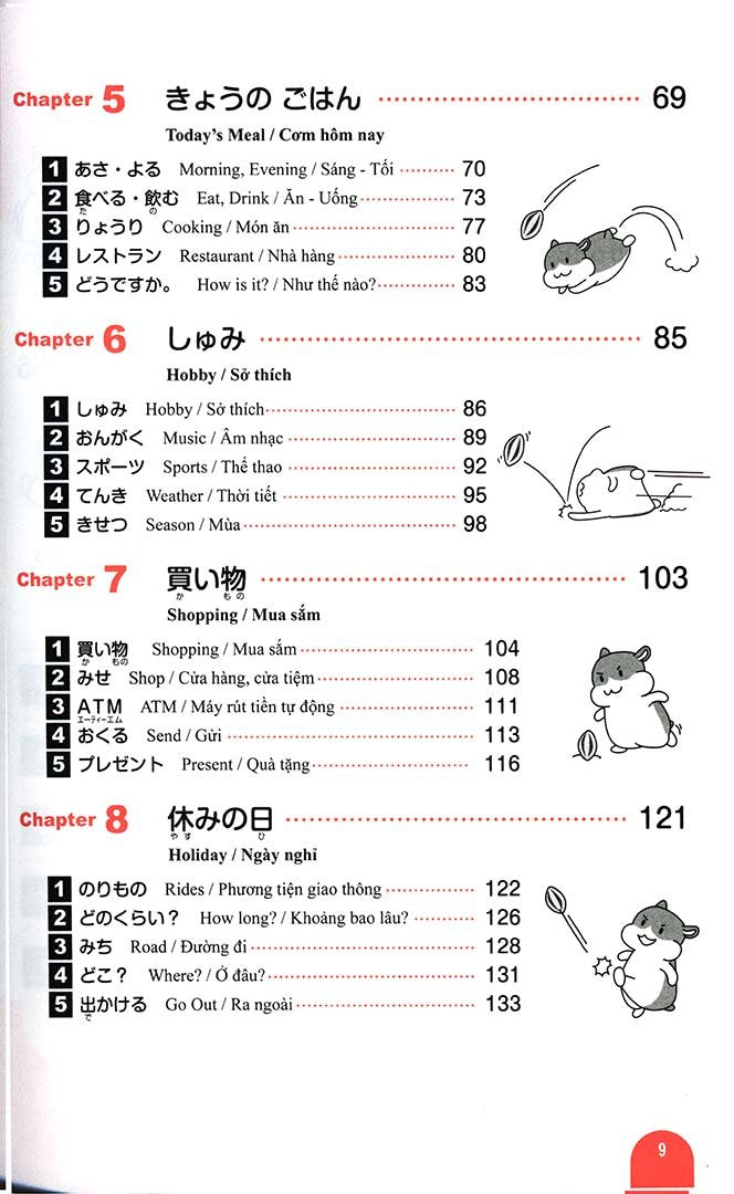 Essential Vocabulary 1000 Nihongo So Matome N5 - 3