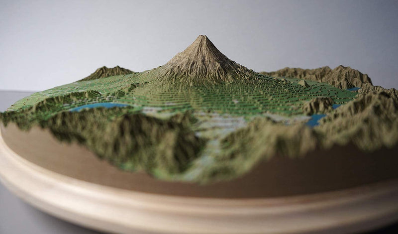 Fuji Mountain Papercraft 3D Model