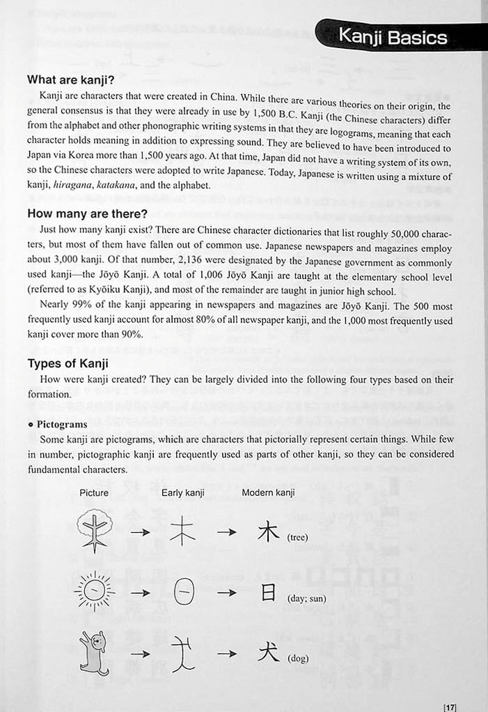 Genki Look and Learn Textbook Page 17