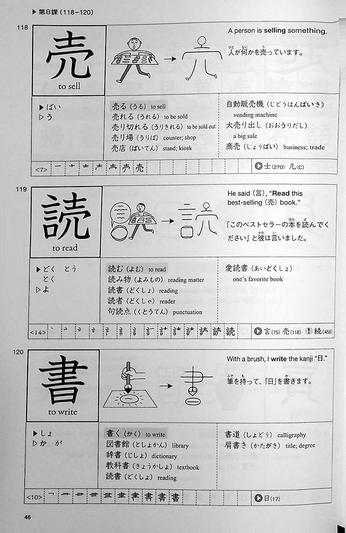 Genki Look and Learn Textbook Page 46