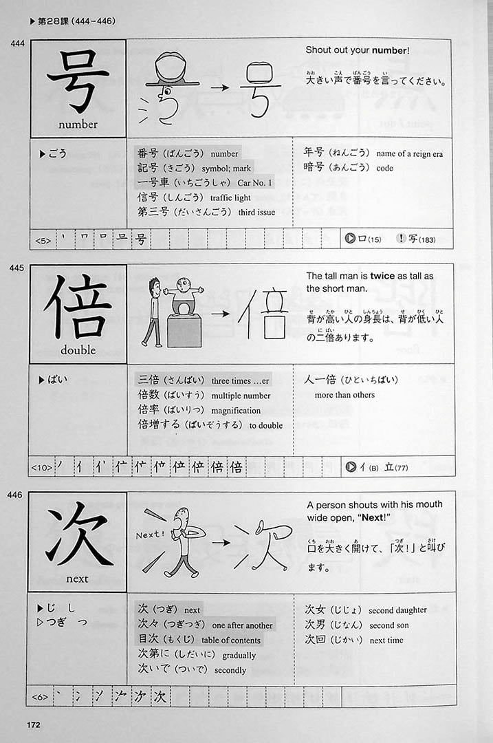 Genki Look and Learn Textbook Page 172
