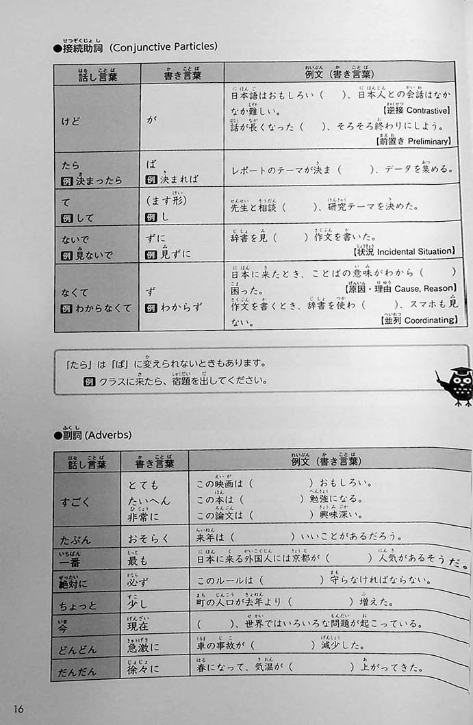Intermediate Japanese Composition Writing Page 16