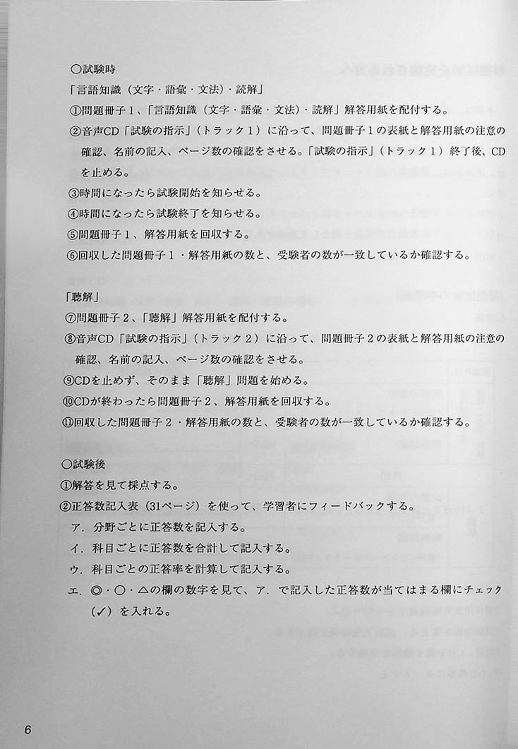 Japanese Language Proficiency Test N2 Mock Test Volume 3 Page 6