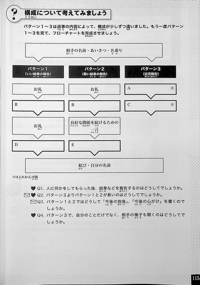 Japanese Writing for Higher Proficiency Page 115