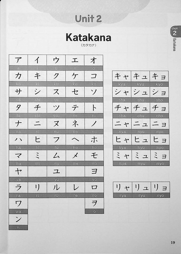 Japanese from the Ground Up Page 19
