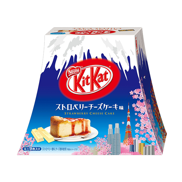 Kit Kat Mount Fuji Strawberry Cheesecake Flavor