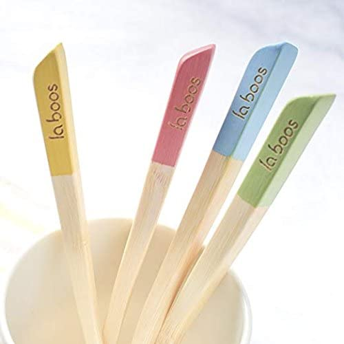 Laboos Bamboo Toothbrushes - Set of 4