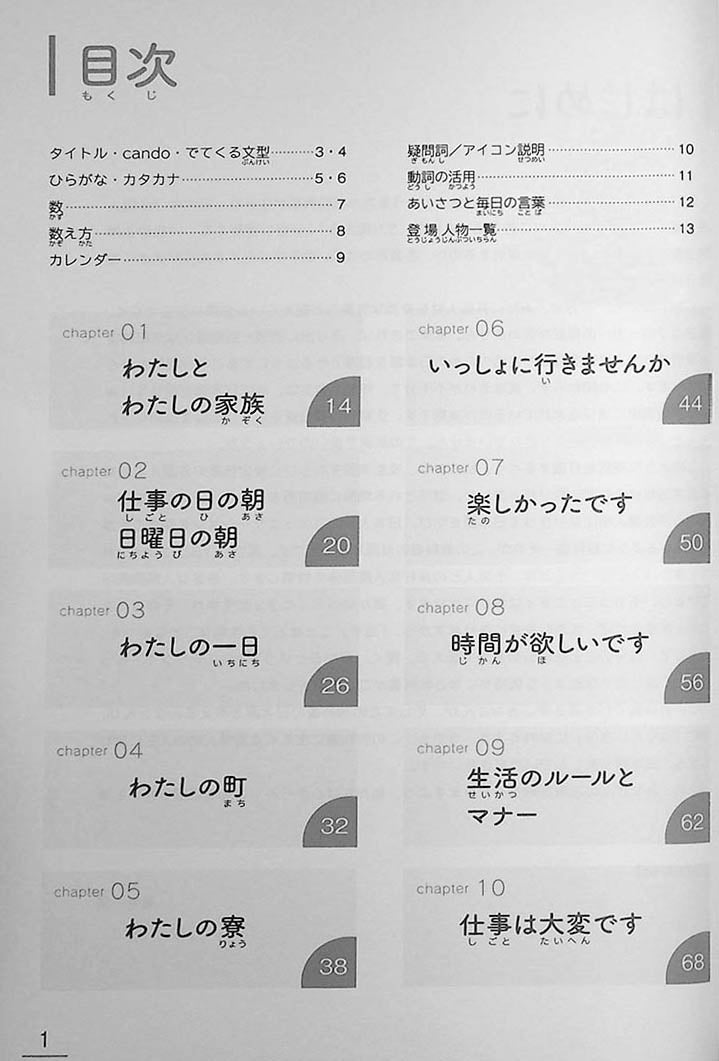 Learn Japanese Through Narratives in 160 Hours Page 1