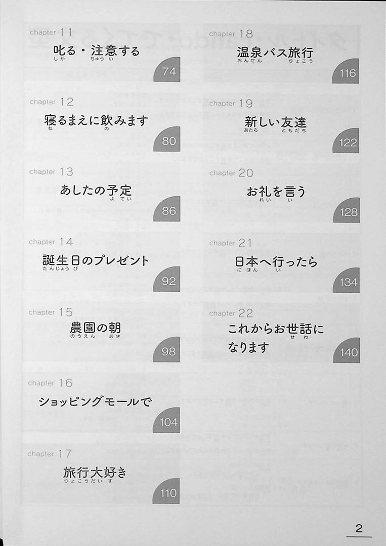 Learn Japanese Through Narratives in 160 Hours Page 2