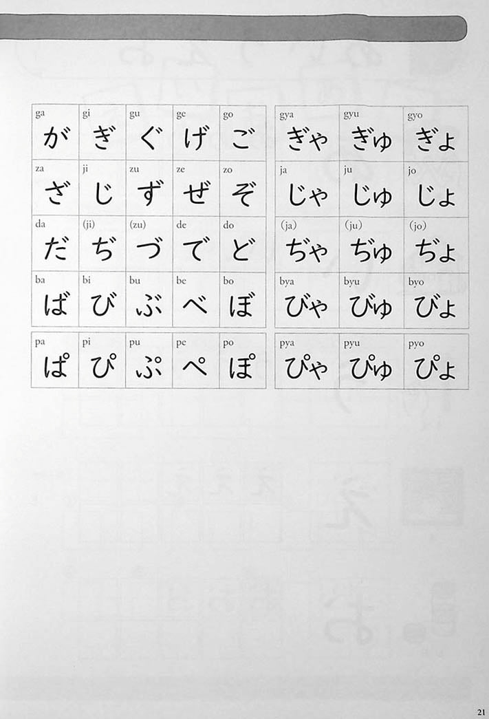 Mastering Kana Guide to Hiragana and Katakana Page 21