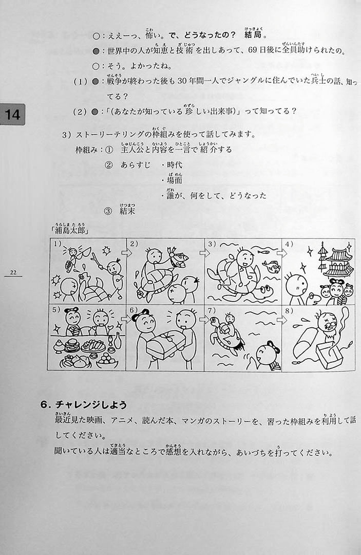 Minna no Nihongo Chukyu 2 Textbook Page 22