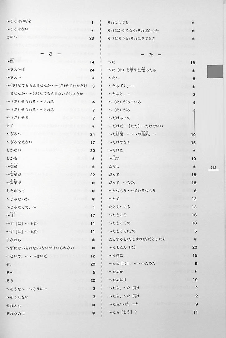 Minna no Nihongo Chukyu 2 Textbook Page 245
