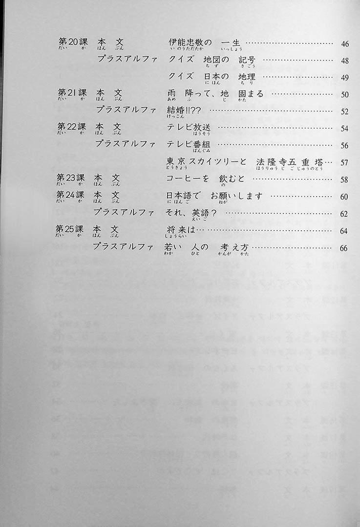 Minna no Nihongo Shokyu 1 25 Topics You Can Read As A Beginner Page 6