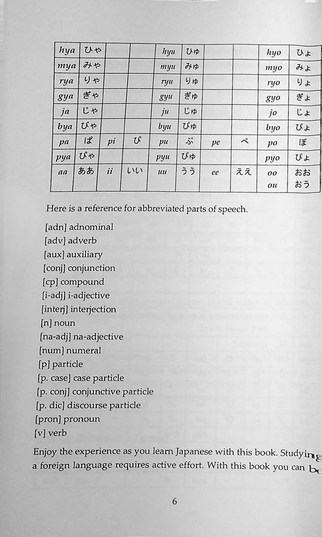 2000 Most Common Japanese Words in Context Page 6
