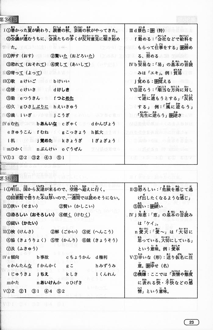 New Kanzen Master JLPT N2: Listening (w/CD) Page 23