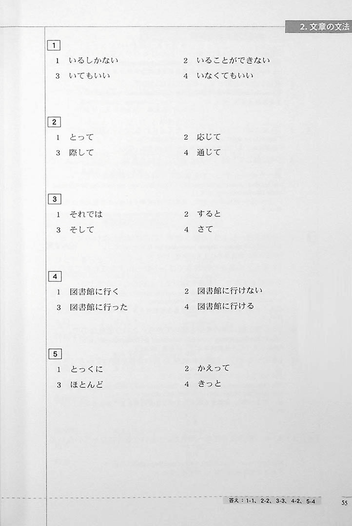 The Preparatory Course for the JLPT N3 Reading Page 55