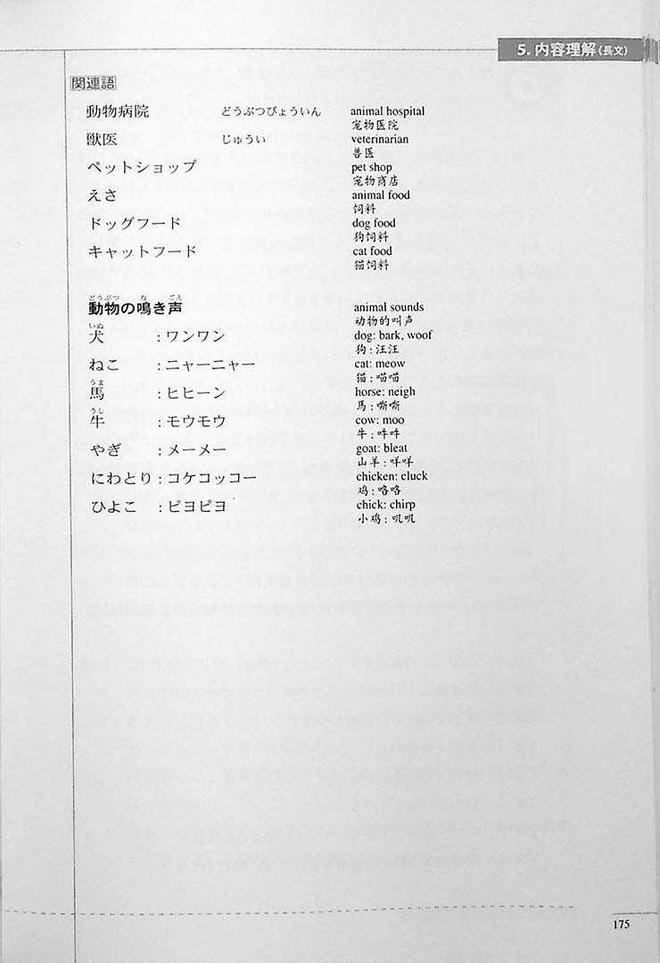 The Preparatory Course for the JLPT N3 Reading Page 175