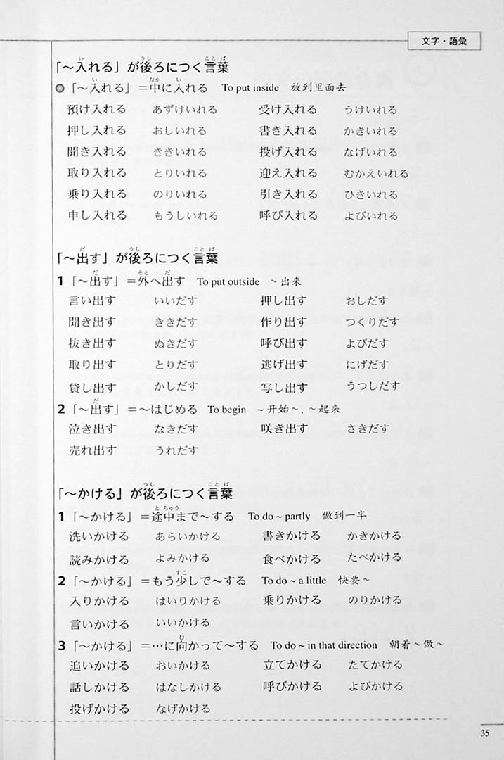 The Preparatory Course for the JLPT N2 Grammar Page 35