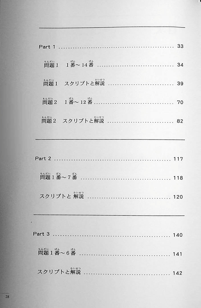 The Preparatory Course for the JLPT N2 Listening Page 28