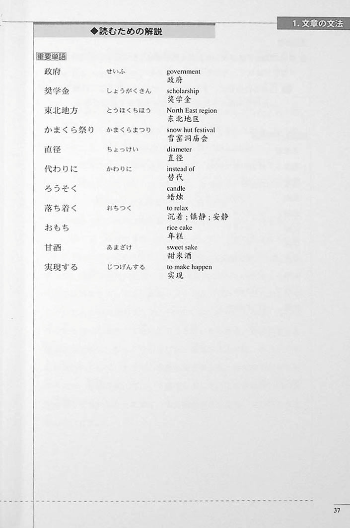 The Preparatory Course for the JLPT N2 Reading Page 37